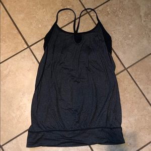 Lululemon 8 tank with a built in bra never worn